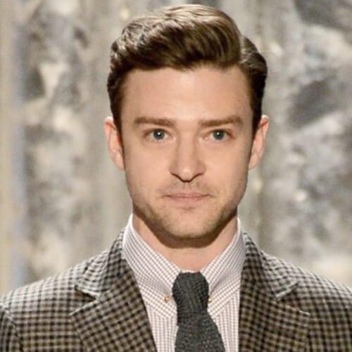 Wavy Justin Timberlake Hairstyles