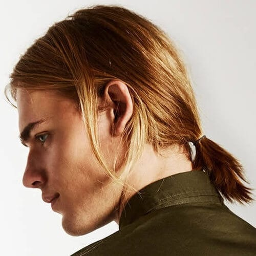 Business Hairstyles for Long Hair Male
