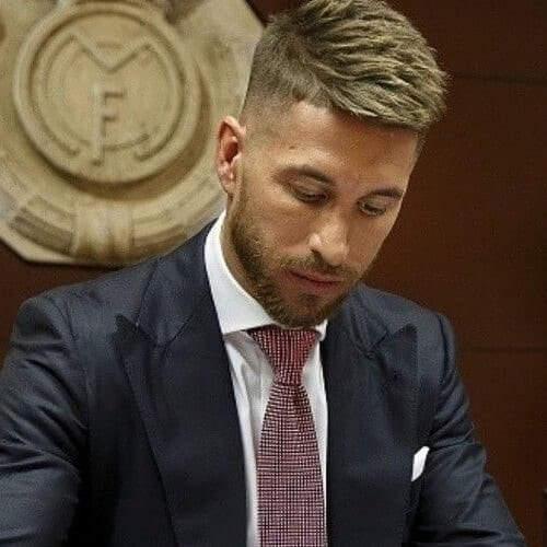 Choppy Sergio Ramos Haircut