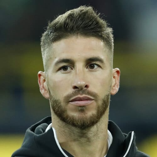 Faux Hawk Sergio Ramos Haircut