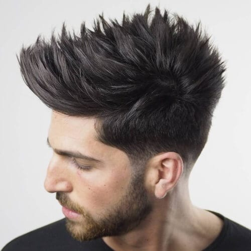 Spiky Hair: 50 Modern Ways to Wear Spikes Today! - Men ...
