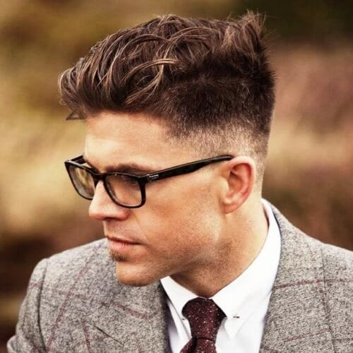 Mid Fade Business Casual Hairstyles