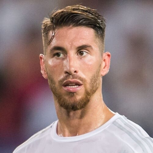 Sergio ramos hair