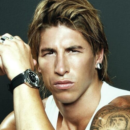 Shaggy Sergio Ramos Haircut