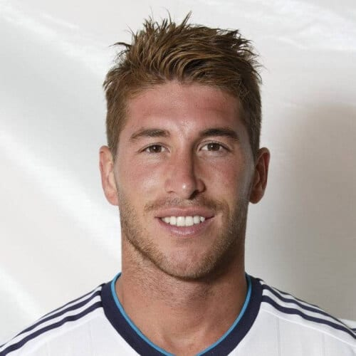 Spiky Sergio Ramos Haircut