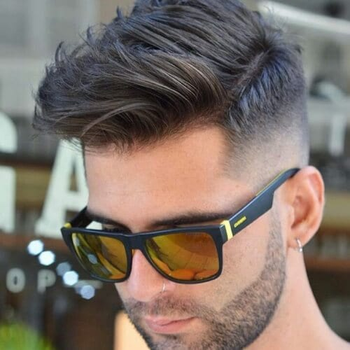 Taper Fade Business Casual Hairstyles