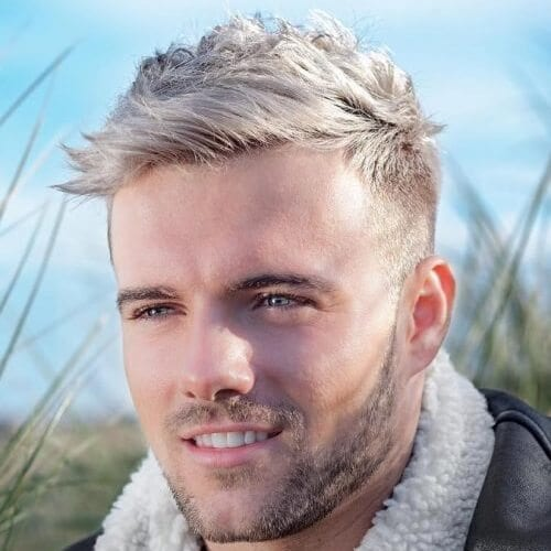 Blonde Quiff Hairstyles