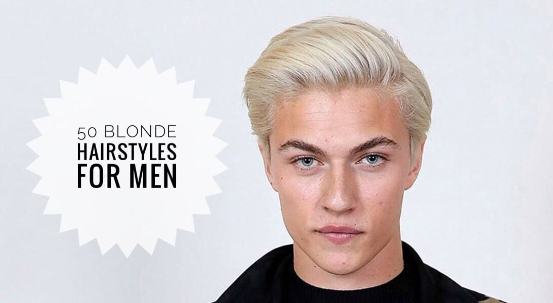 50 Blonde Hairstyles For Men To Try Out!