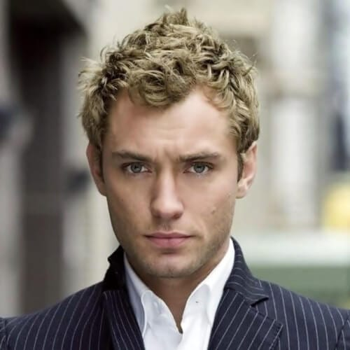 Textured Blonde Hairstyles For Men
