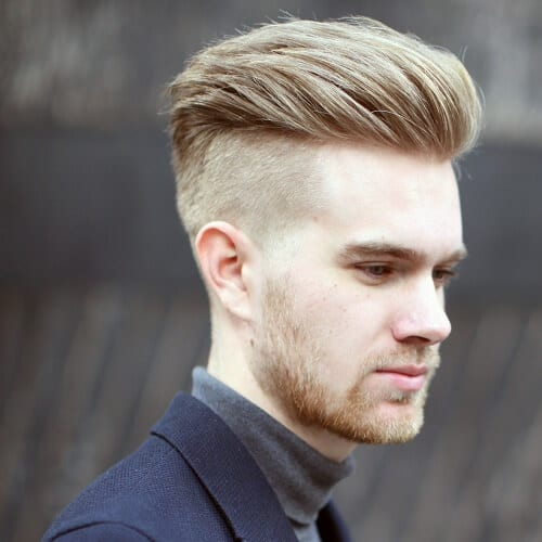 Attractive Undercut Hairstyles For Blonde Men