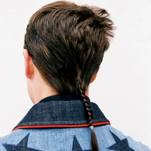 Braided Mullet Haircut