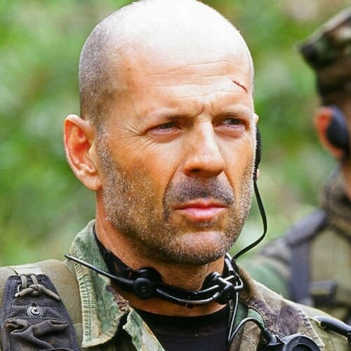 Bruce Willis Hairstyles for Balding Men