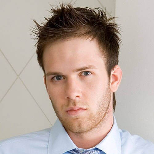 Business Mullet Hairstyle