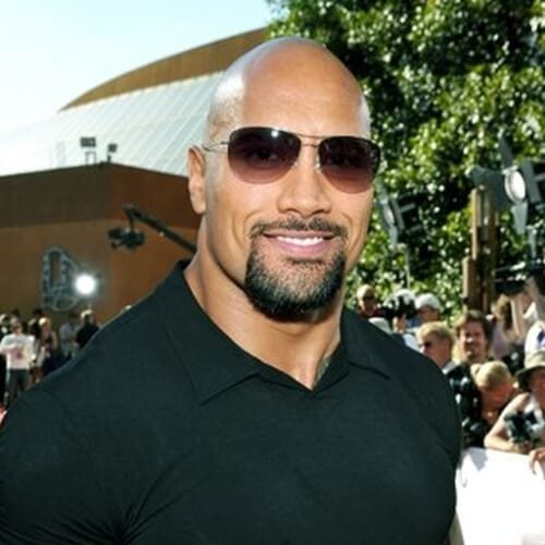 Dwayne The Rock Johnson Hairstyles for Balding Men