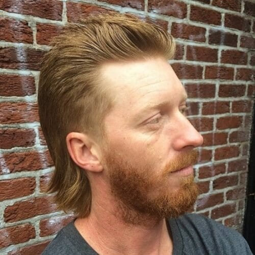 Easygoing Mullet Hairstyle