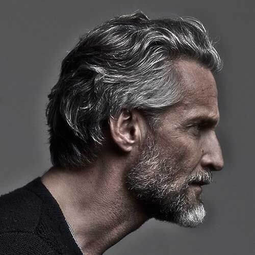 Flow Hairstyles for Balding Men