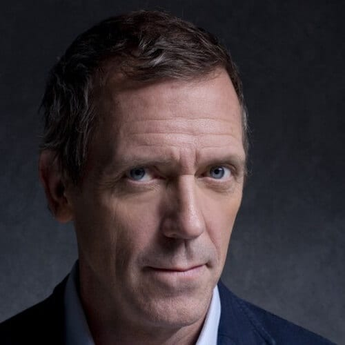 Hugh Laurie Hairstyles for Balding Men