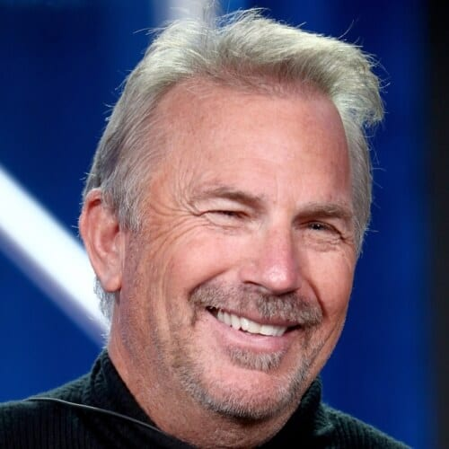 Kevin Costner Hairstyles for Balding Men