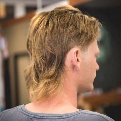 Layered Mullet Haircut