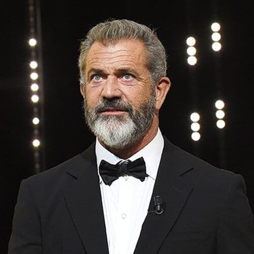 Mel Gibson Hairstyles for Balding Men