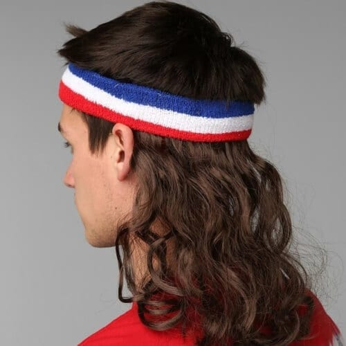 Old School Mullet Haircut