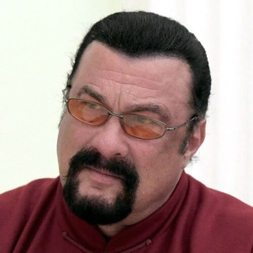 Steven Seagal Hairstyles for Balding Men