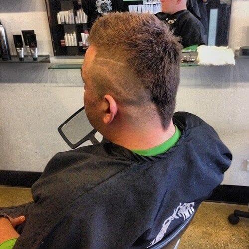 V-shaped Rattail Haircut
