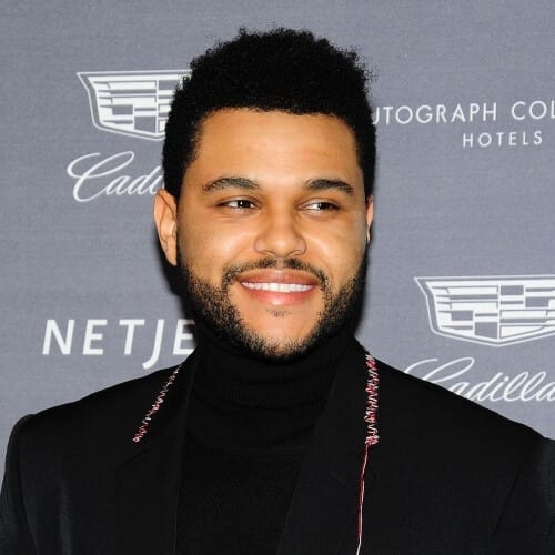 The Weeknd Business Haircut
