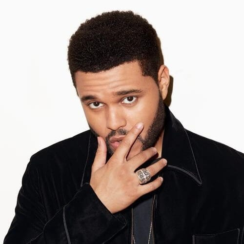 The Weeknd Clean Cut Hair