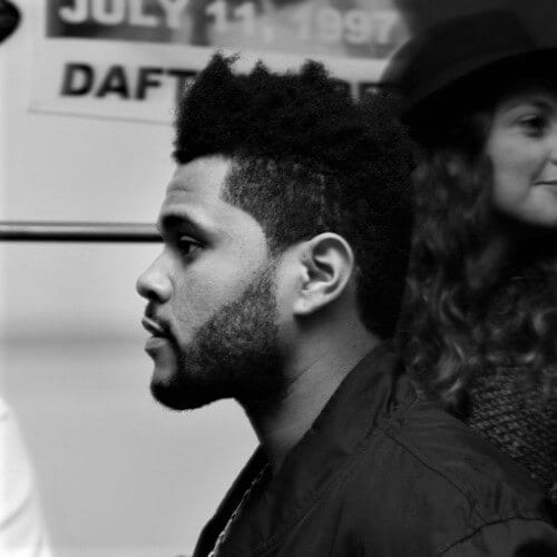 The Weeknd Discrete Undercut