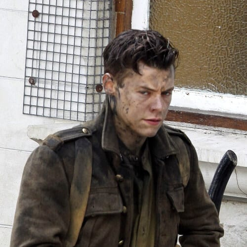 Harry Styles Haircut Dunkirk Movie Style