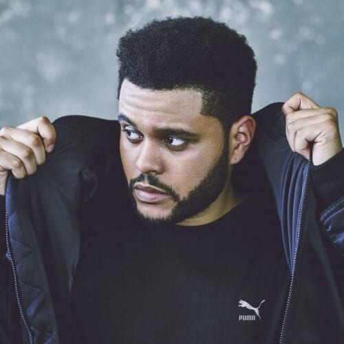 The Weeknd New Hair Style with Box Fade