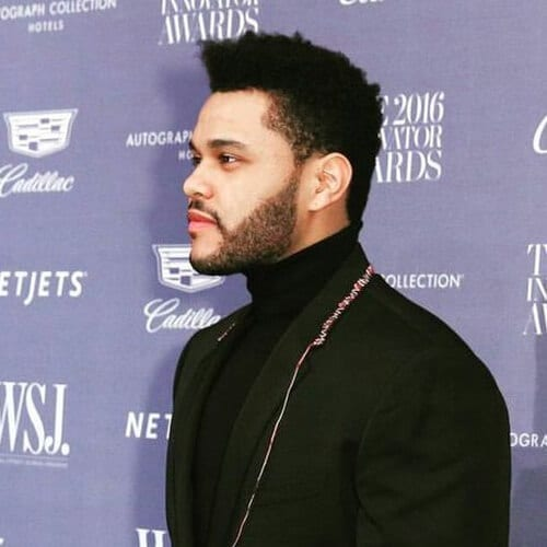The Weeknd New Haircut