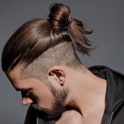 Clean Undercuts with Man Buns