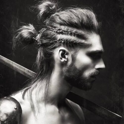 Complex Viking Hairstyles
