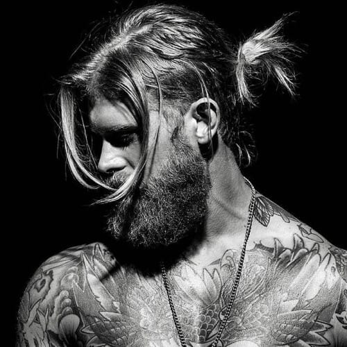 Messy Viking Hairstyles