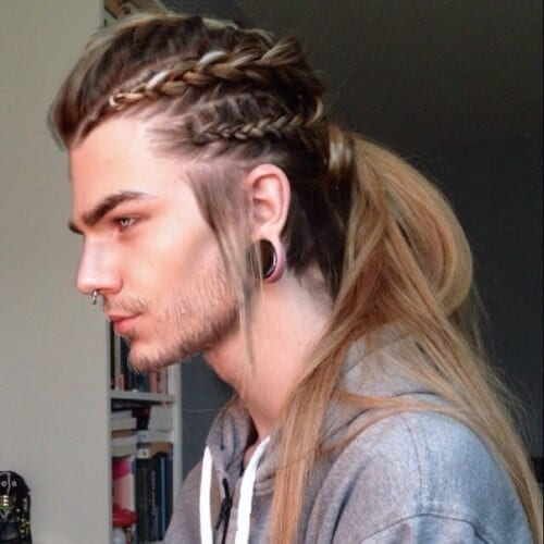 Ponytail Viking Hairstyles