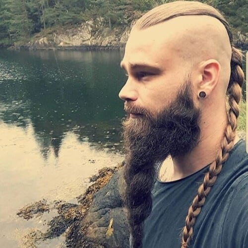 Sleek Viking Hairstyles