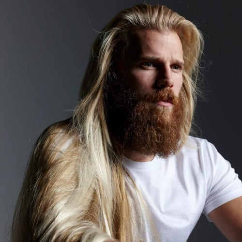 Viking Hairstyles with Hair Down