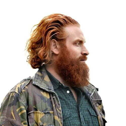 kristofer hivju ginger hairstyle