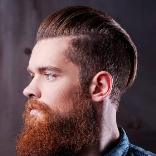 beard disconnected undercut