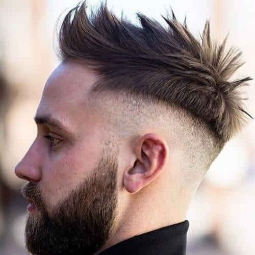 spiky disconnected undercut