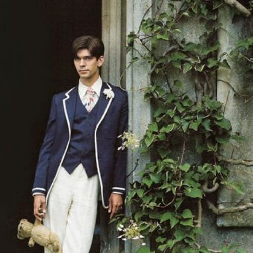 Brideshead Revisited (2008) - Ben Whishaw as Sebastian 1930s mens hairstyles