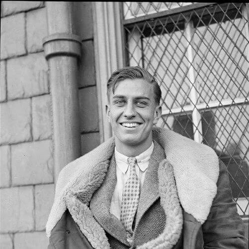 James Roosevelt, son of President Roosevelt, 1930s 1930s mens hairstyles