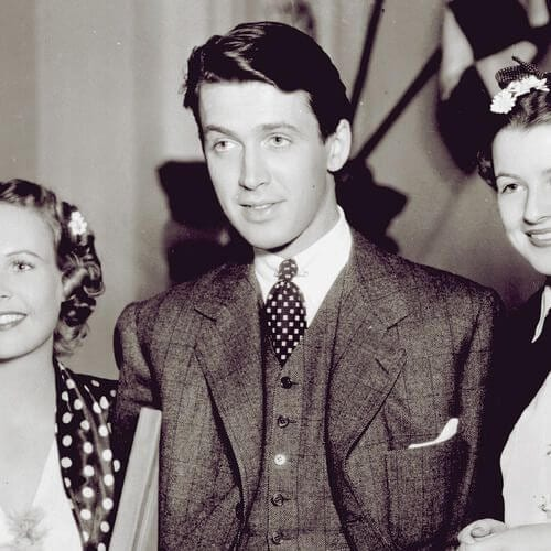 James Stewart, 1930s mens hairstyles