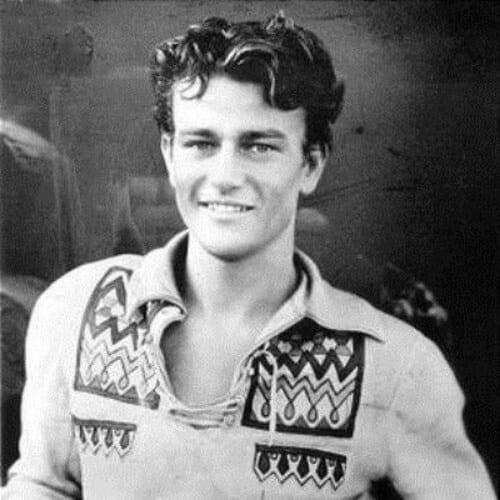 John Wayne 1930s mens hairstyles