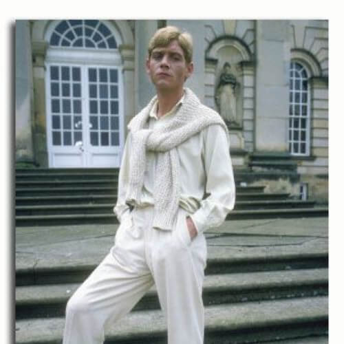 Lord Sebastian Flyte (Anthony Andrews) in the 1981 adaptation of Brideshead Revisited 1930s mens hairstyles