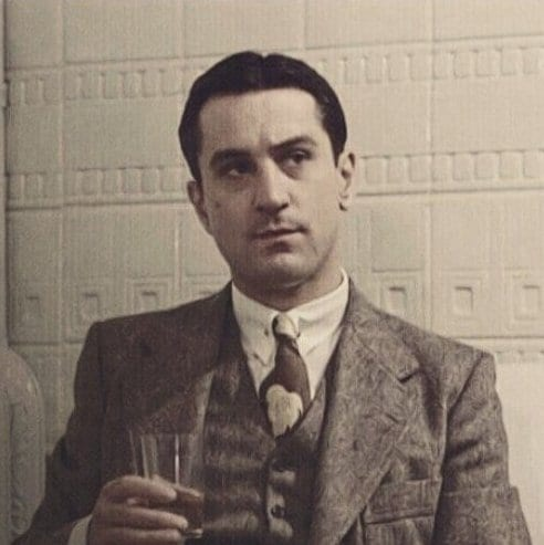 Once Upon a Time in America (1984) Robert De Niro 1930s mens hairstyles