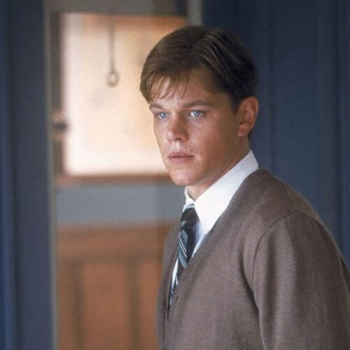 The Legend of Bagger Vance from Matt Damon 1930s mens hairstyles