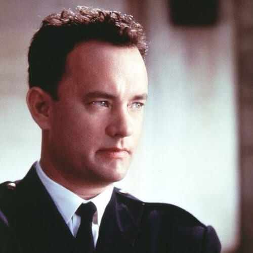 Tom Hanks in The Green Mile 1930s men hairstyle